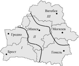 З зоны промерзания грунта Белоруссии