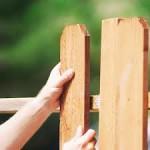 забор из штакетника своими руками, пролет