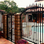 razryadghennii fence-s-kovannymi-elementami
